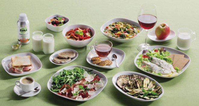 dieta zona menu settimanale