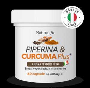Curcuma e Piperina Plus